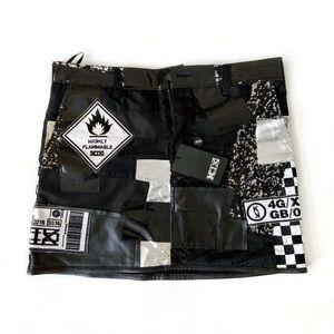 KTZ SS16 Patchwork Mini Skirt